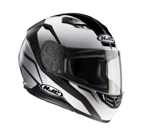 KASK HJC CS-15 SEBKA BLACK/WHITE